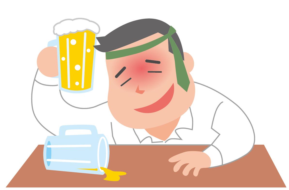 今月の健康のツボ!Vol.106 ●二日酔い●