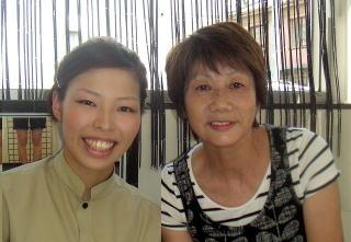 2013年12月 白岡市在住 60代女性 看護助手 長井啓子様