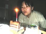 裕恵先生誕生日