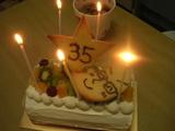 09院長誕生日ケーキ
