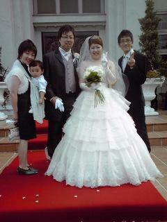 金子ちゃん結婚式2
