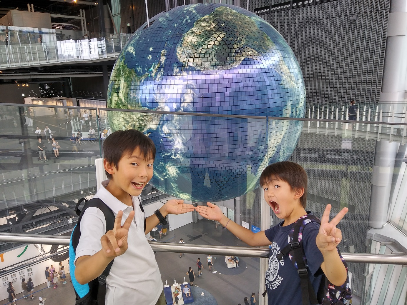 久しぶりの日本科学未来館
